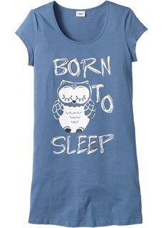 Ночная сорочка с принтом (синий с рисунком) Bonprix