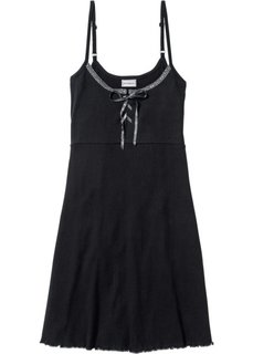 Ночная сорочка (черный/шиферно-серый) Bonprix