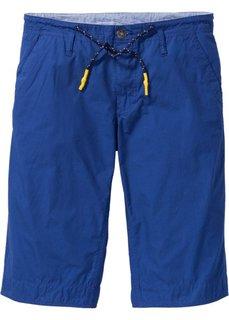 Длинные шорты-бермуды Regular Fit (голубой) Bonprix