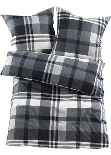 Постельное белье Курт, фланель (черный) Bonprix
