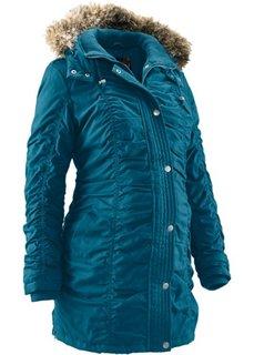Для будущих мам: зимняя куртка (серо-синий) Bonprix