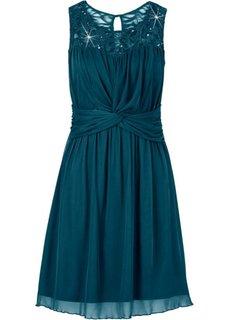 Шифоновое платье (изумрудный) Bonprix
