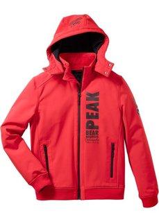 Куртка-софтшелл Regular Fit (красный) Bonprix