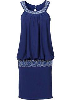 Коктейльное платье (ночная синь) Bonprix