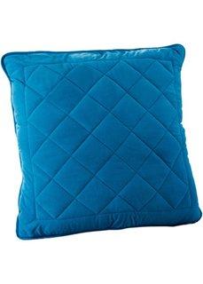 Подушка Полярный флис (сине-зеленый) Bonprix