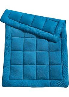 Одеяло Полярный флис (сине-зеленый) Bonprix