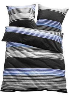 Постельное белье Герри, нежная фланель (синий) Bonprix