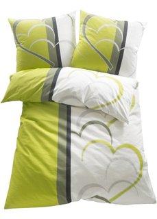 Постельное белье Амели, фланель (зеленый) Bonprix