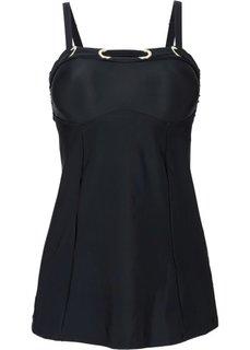 Купальный костюм-танкини (2 изделия) (черный) Bonprix