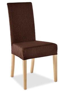 Чехол для стула Esther (коричневый) Bonprix