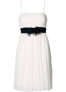 Трикотажное платье (кремовый) Bonprix
