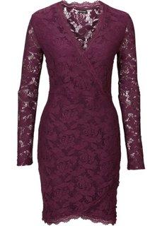 Кружевное платье (лиловый) Bonprix