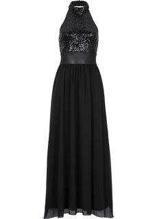 Платье (черный) Bonprix