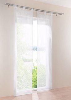 Японская штора Уни, петли, набор (4 шт.) (белый) Bonprix