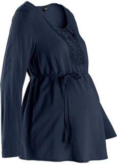 Туника для беременных (темно-синий) Bonprix