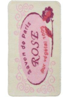 Коврик для ванной Лилль (розовый) Bonprix