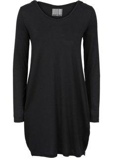 Платье с капюшоном (черный) Bonprix