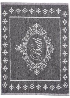 Полотенце для ног Ванная комната (серый) Bonprix