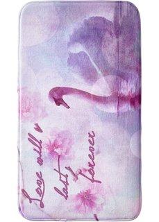 Коврик для ванной Лебедь из пены-мемори (розовый) Bonprix