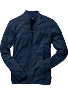 Трикотажная куртка стандартного покроя (темно-синий) Bonprix