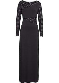 Вечернее платье (черный) Bonprix