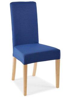 Чехол для стула Непал (синий) Bonprix