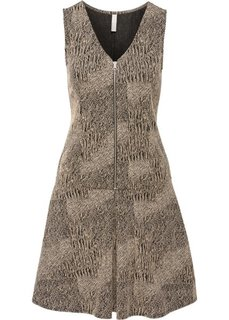 Платье (коричневый меланж) Bonprix