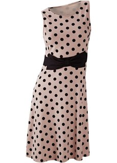 Платье (светло-коричневый/черный) Bonprix
