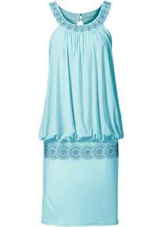 Коктейльное платье (пастельная аква) Bonprix