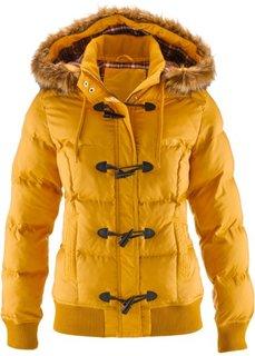 Куртка дафлкот (медовый) Bonprix