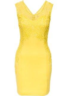 Праздничное платье (нежно-желтый) Bonprix