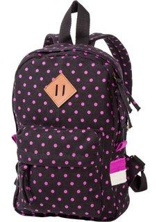 Детский рюкзак (черный/ярко-розовый) Bonprix