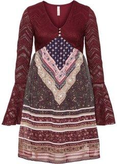 Платье (бордовый) Bonprix