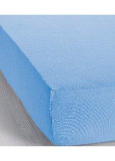 Эластичная простыня-чехол Махра (нежно-голубой) Bonprix
