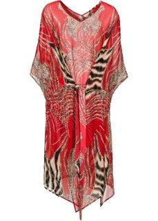 Пляжное платье (красный) Bonprix