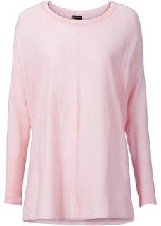 Пуловер в стиле оверсайз (нежно-розовый) Bonprix
