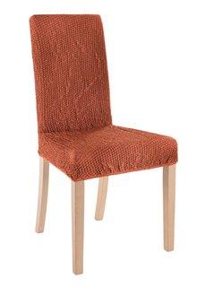 Чехол для стула Меланж (терракотовый) Bonprix