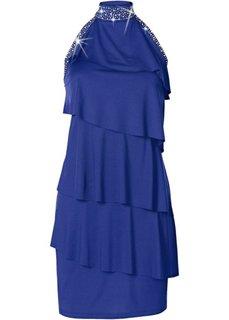 Короткое трикотажное платье (королевский синий) Bonprix