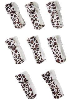 Носки для ножек стульев или стола Лео (8 шт.) (белый леопардовый/коричневый) Bonprix