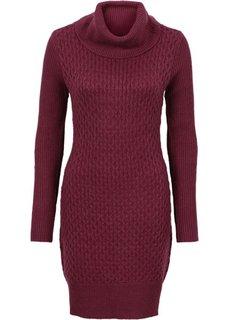 Вязаное платье (маджента) Bonprix