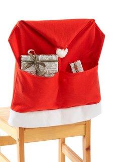 Чехол для стула Санта (4 шт.) (красный/белый) Bonprix