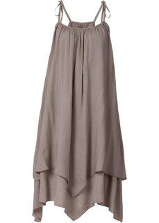 Платье (темный серо-коричневый) Bonprix
