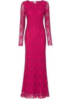 Платье (красный/черный) Bonprix