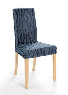 Чехол для стула Вена (синий) Bonprix