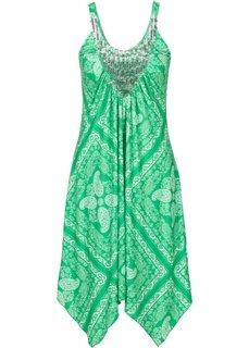 Платье (зеленый с рисунком) Bonprix