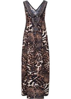 Леопардовое платье (коричневый) Bonprix