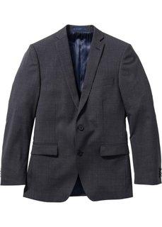 Пиджак Regular Fit с шерстью (антрацитовый) Bonprix
