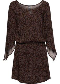 Классика гардероба: платье (ржаво-красный с леопардовым рисунком) Bonprix