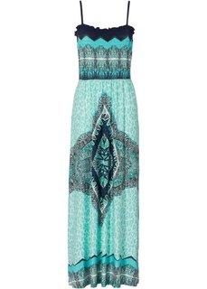 Платье макси (синий ментол) Bonprix