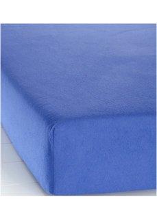 Простыня-чехол Фланель (синий) Bonprix